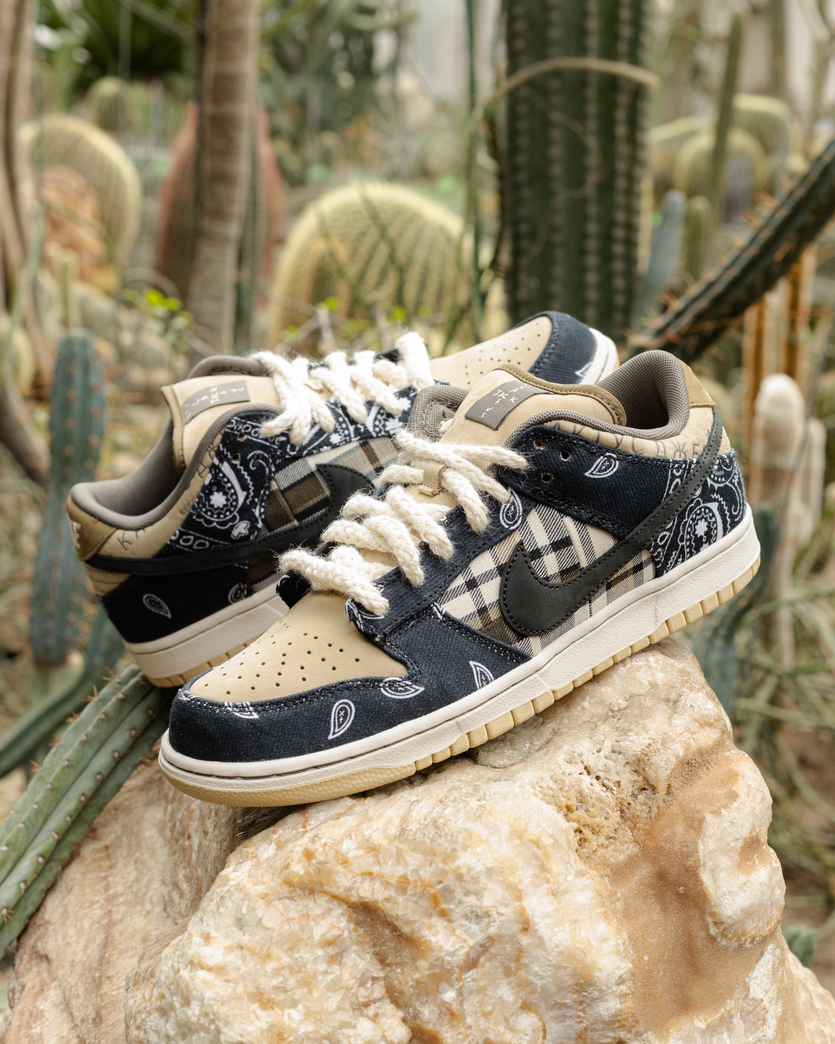"Nike SB x Travis Scott Dunk Low ""Cactus Jack"""