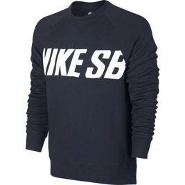 4f94e54794d19 Bluza Nike SB Everett Motion Crew Obsidian white