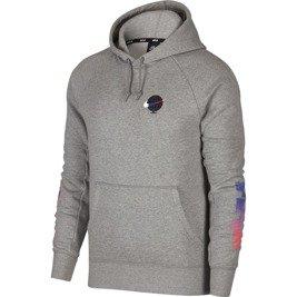 new product b7b97 b8617 nike sb icon hoodie gfx dk grey heather white