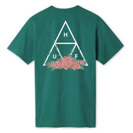 official photos 8ecef 7d806 t-shirt huf city rose triple triangle
