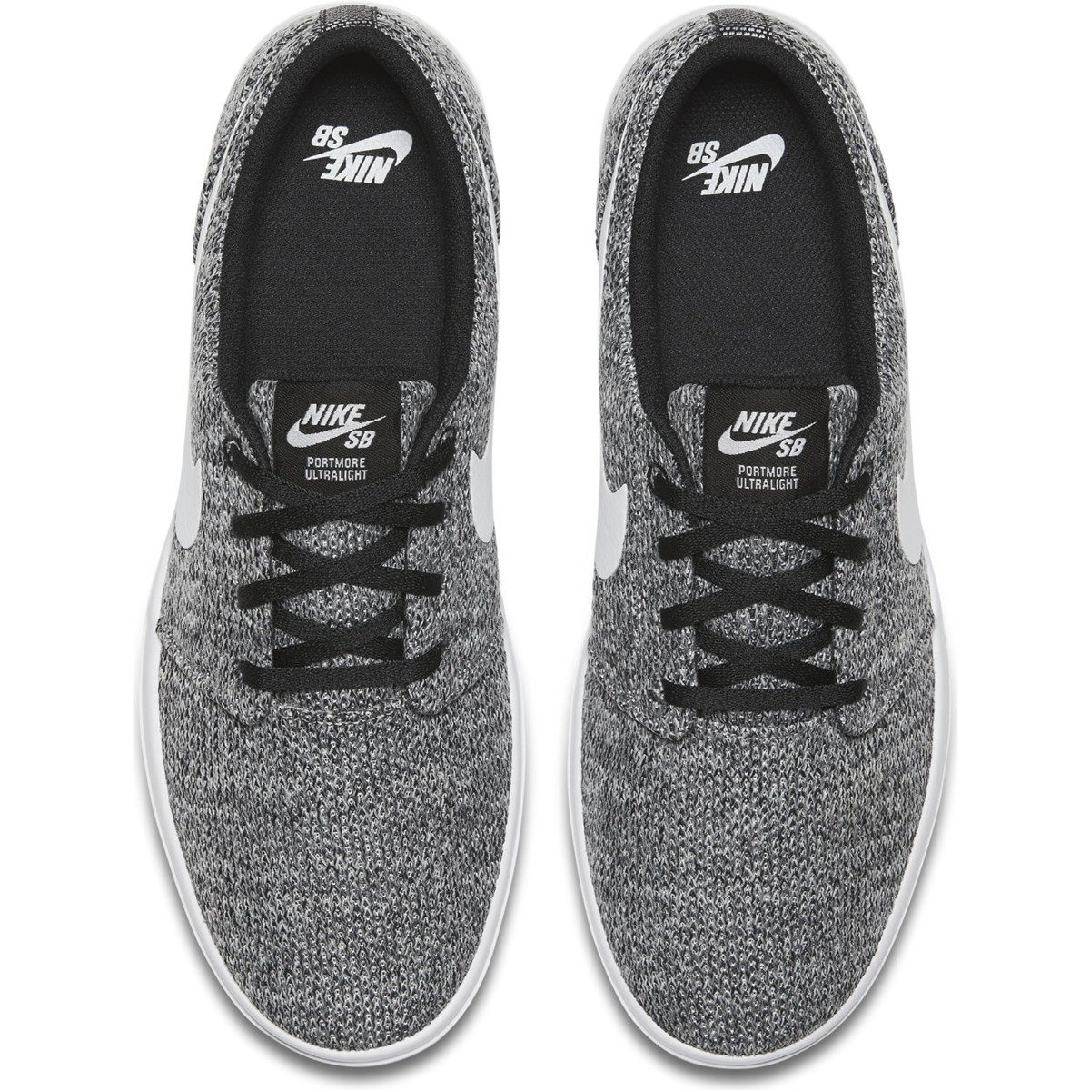 check out 1b329 6afd9 ... shoes nike sb portmore ii ultralight black white-wolf grey Click to  zoom ...