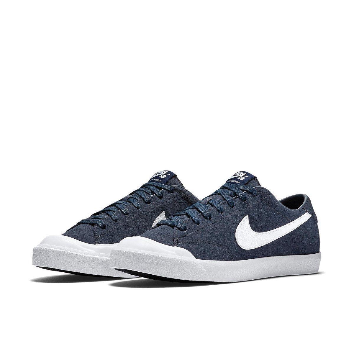 aa5b3f2e4feff Buty Nike SB Air Zoom All Court CK Obsidian/white navy | Shoes ...