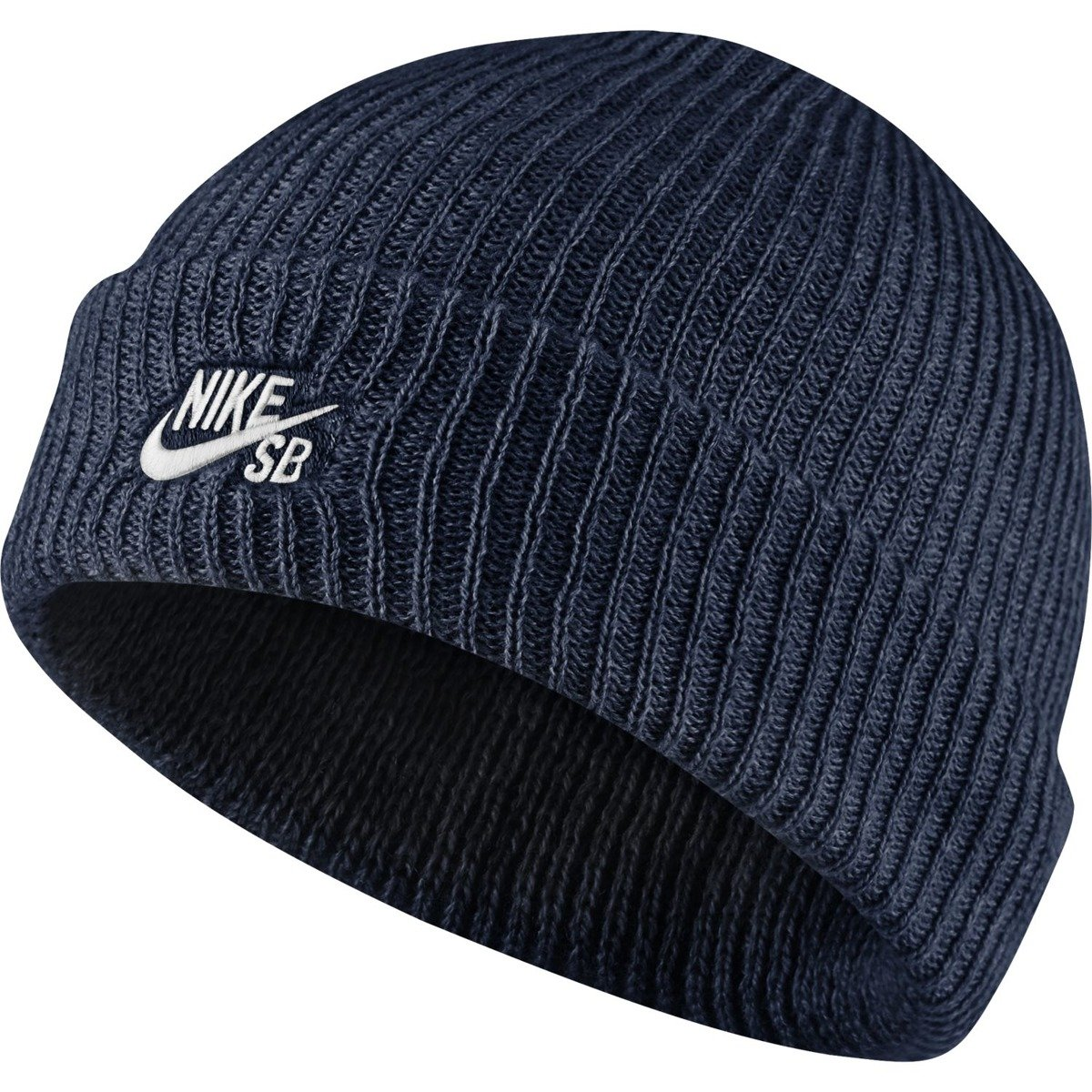 Czapka Nike SB Fisherman Beanie Med Team Rd Htr white navy  55e3f4af31aa