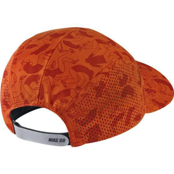 ... Czapka Nike SB Performance Printed 5-Panel UNIV ORANGE BLACK REFLECTIVE  SILV Click to zoom 7712db0efaf