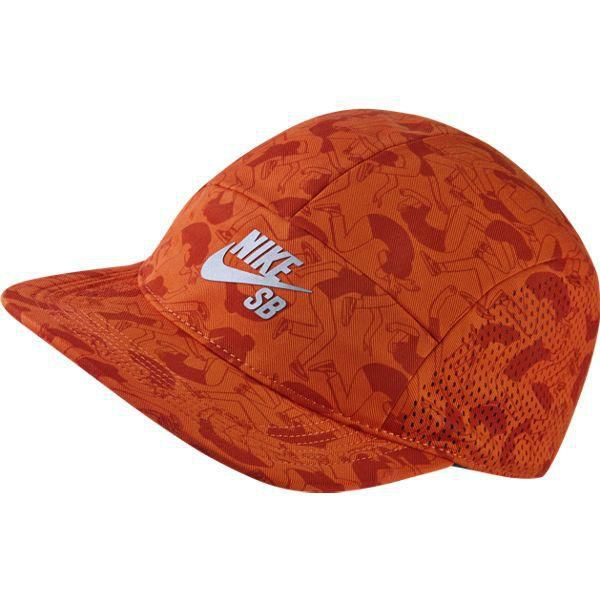 Click to zoom · Czapka Nike SB Performance Printed 5-Panel UNIV  ORANGE BLACK REFLECTIVE SILV Click to zoom 66d1c093b95