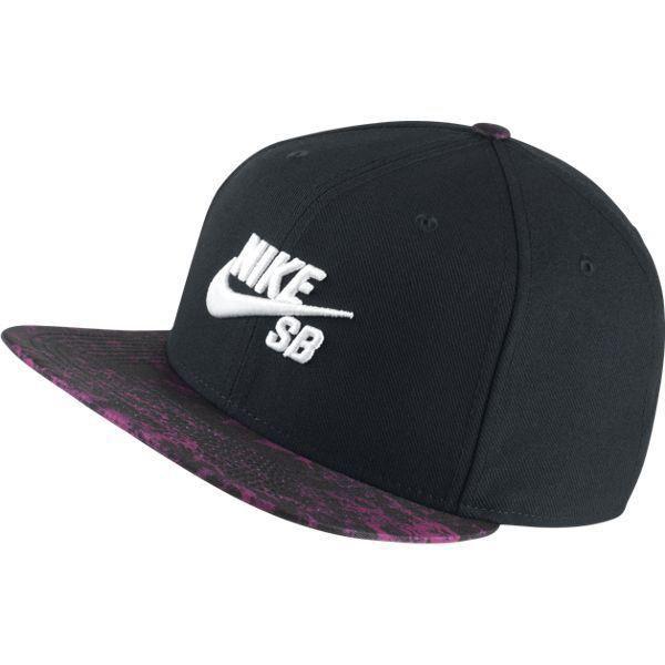 newest a1e7e d610a Czapka Nike SB Seasonal Snapback BLACK BLACK WHITE Click to zoom ...