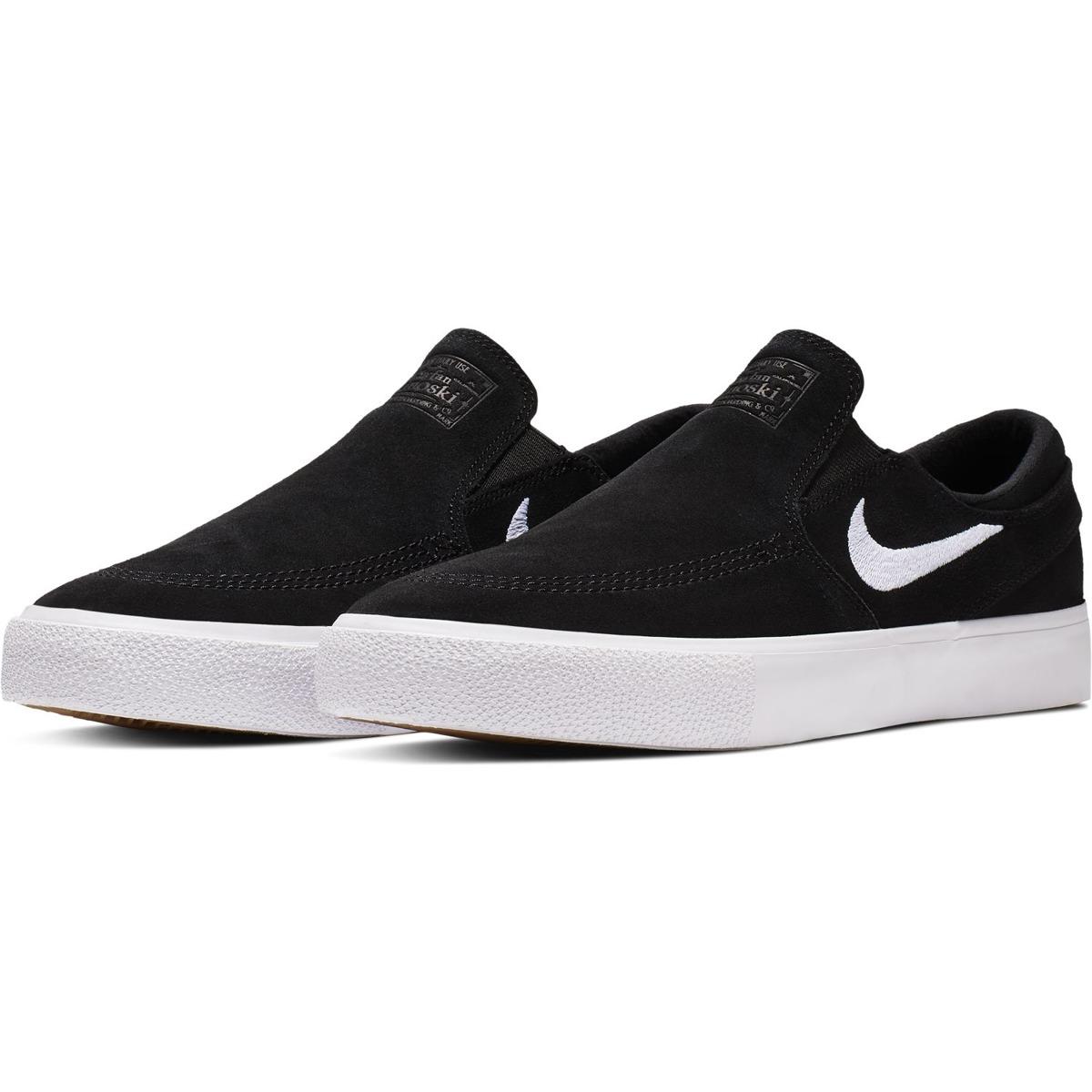 d8a7331981 Janoski Slip Rm Canvas Black/white-white black   Shoes \ Nike SB ...