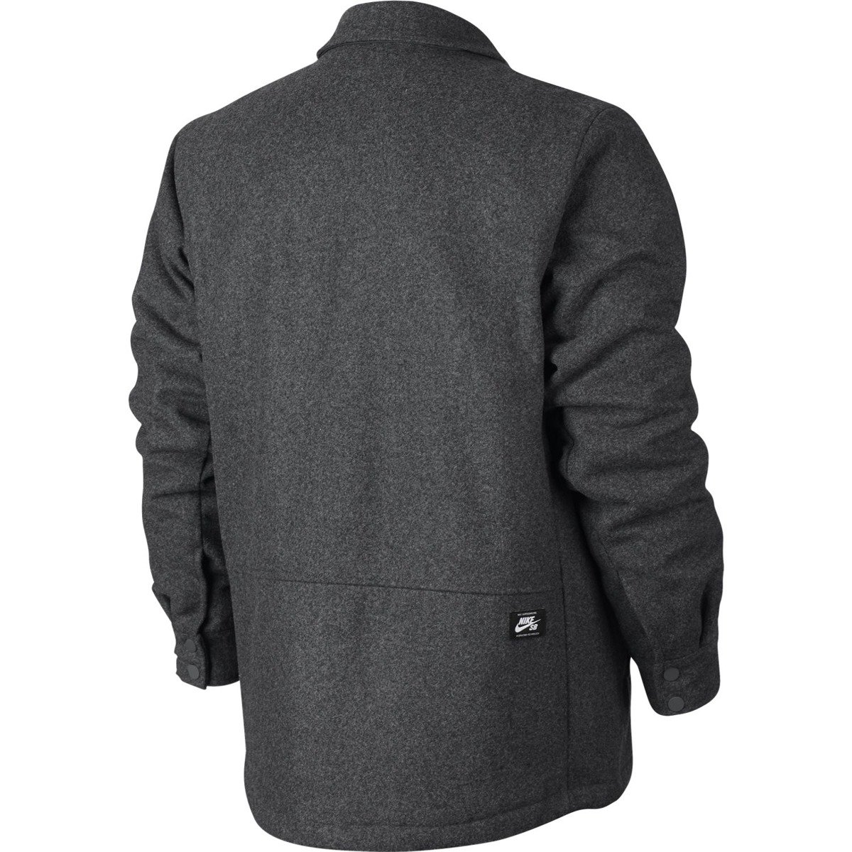 6eb04b3266 ... Nike SB Wool Coaches Jacket Charcoal Heathr black Click to zoom