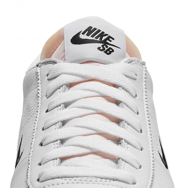 on sale 7354d a2604 ... Nike SB Zoom Bruin ISO white black-safety orange Click to zoom