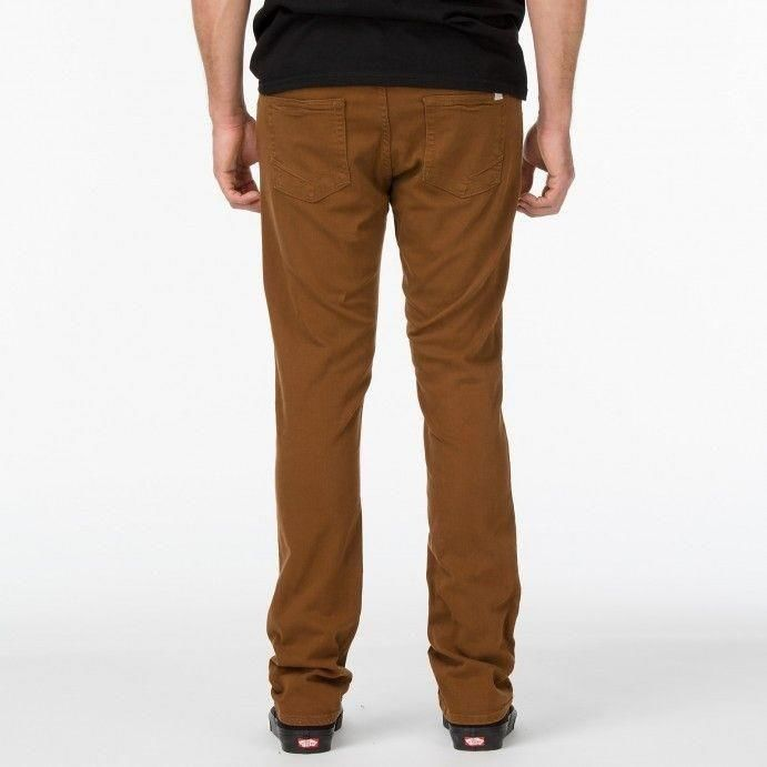 2dccf00a59 ... Spodnie Vans V76 Skinny Brązowe Click to zoom ...