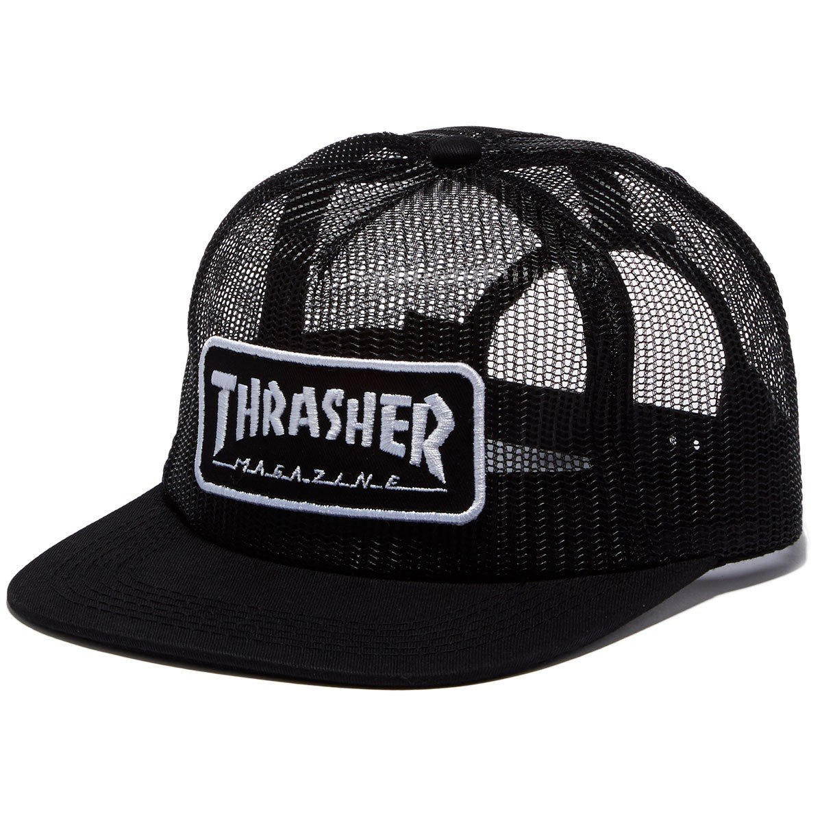 8aae27f5ed4 Thrasher Skategoat Wool Blend Snap Blk Click to zoom
