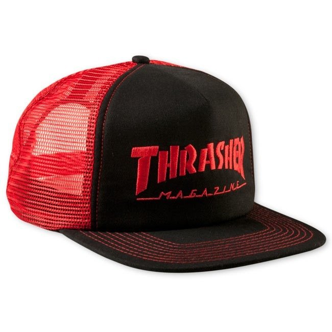 6ab7787cd57 Thrasher Skategoat Wool Blend Snap Blk