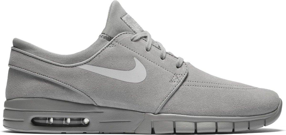 shoes nike sb stefan janoski max l matte silver pure platinum grey ... d19a1fc87