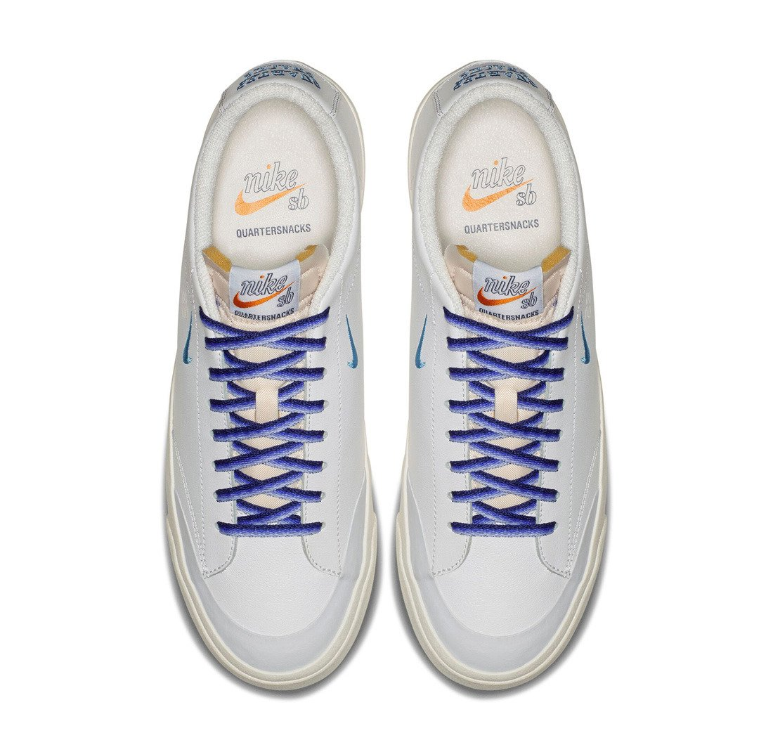 oferta hoja Calle  quartersnacks x nike sb zoom blazer low xt – white / university blue / sail  | Shoes \ Nike SB SALE \ Sale 50% -70% \ Shoes Brands \ Nike SB Buty \ Nike  SB \ Nike Summer 2018 | Skateshop Miniramp.pl