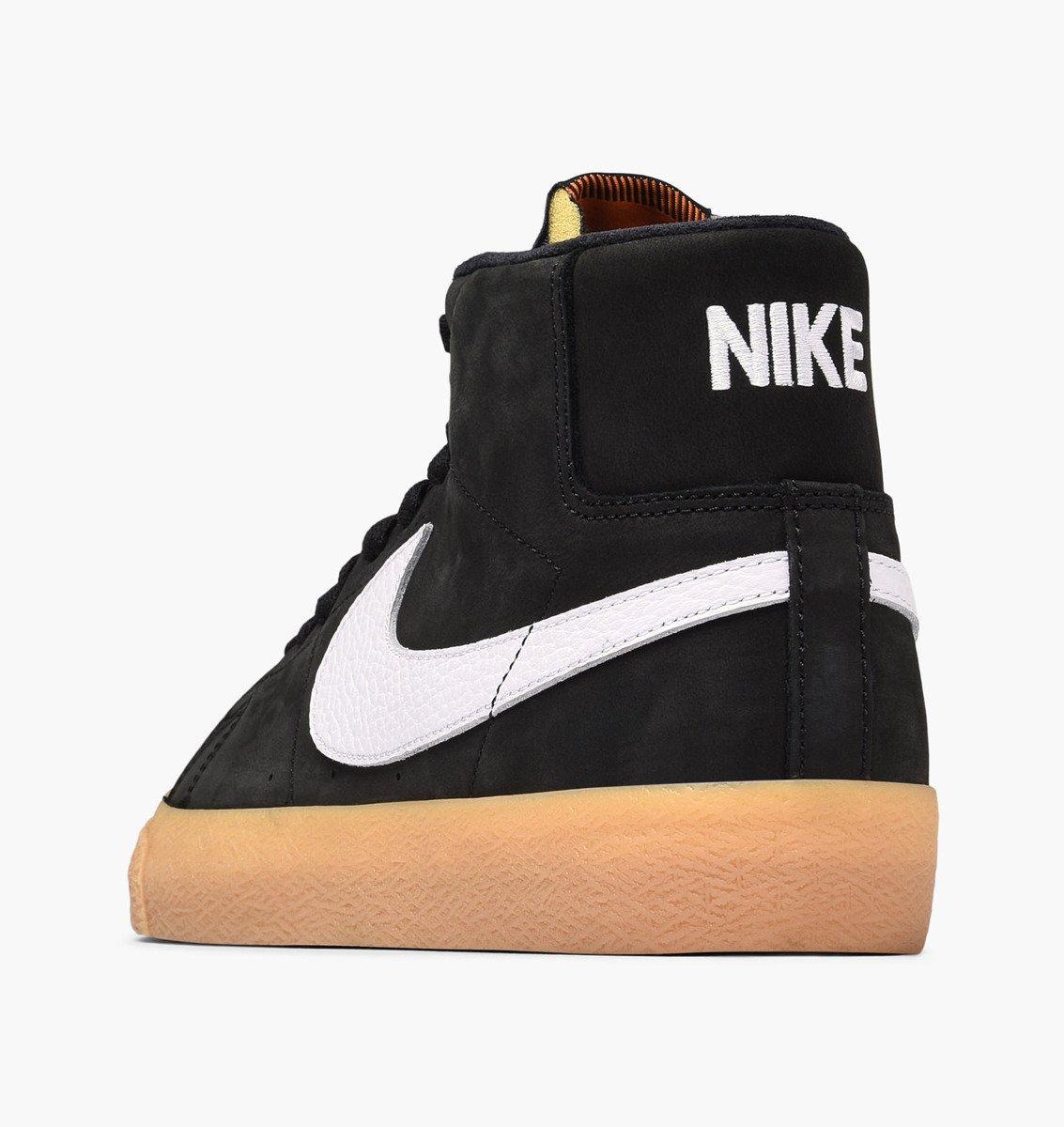 promo code df97c 7e862 ... shoes Nike SB Zoom Blazer Mid ISO Black white-safety Orange Click to  zoom ...