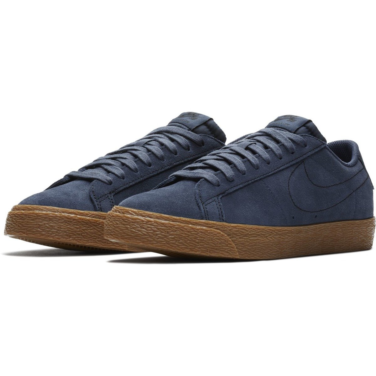 a530a4be6f3ee ... shoes nike sb zoom blazer low thunder blue thunder blue-gum med brown  Click to zoom ...
