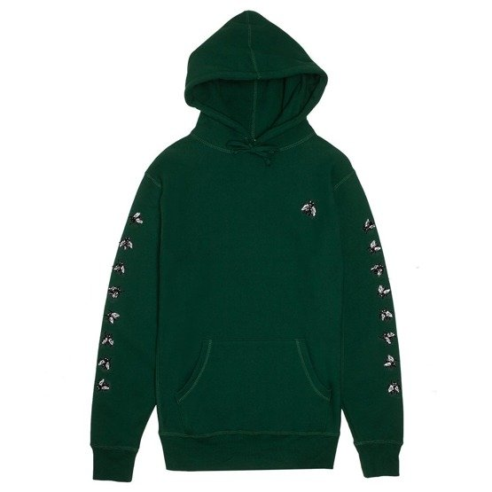 fucking awesome Flies Hoodie green