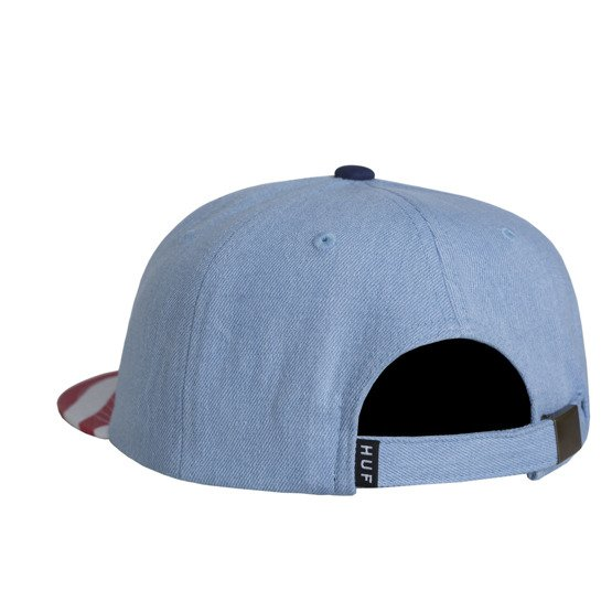 huf apparel cap denim 4th july denim