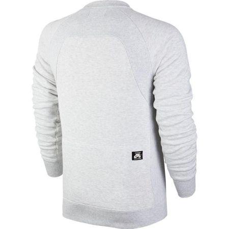 928f49bd1d654 Click to zoom  Bluza Nike SB Everett Motion Crew Dk Grey Heather black