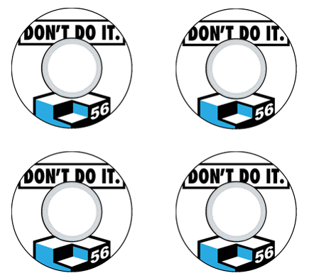 Consolidated - Don't do it - Consolidated Skateboard 56mm