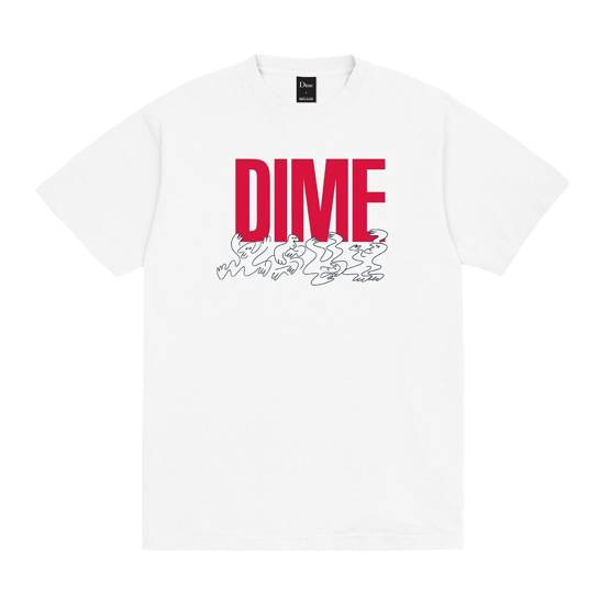 DIME SUPPORT T-SHIRT WHITE