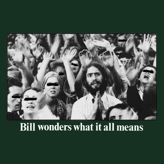 Fucking Awesome Bill Wonders Tee dark green