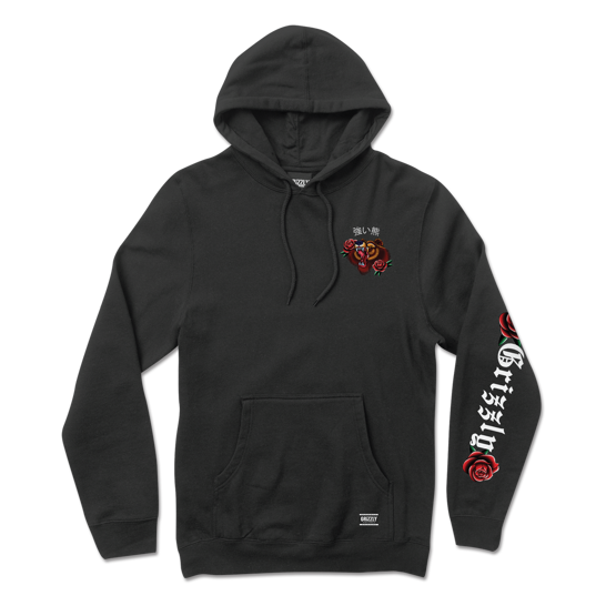 Grizzly Flash Art Hoodie black