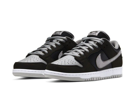Nike SB Dunk Low pro Black/medium Grey-black-white