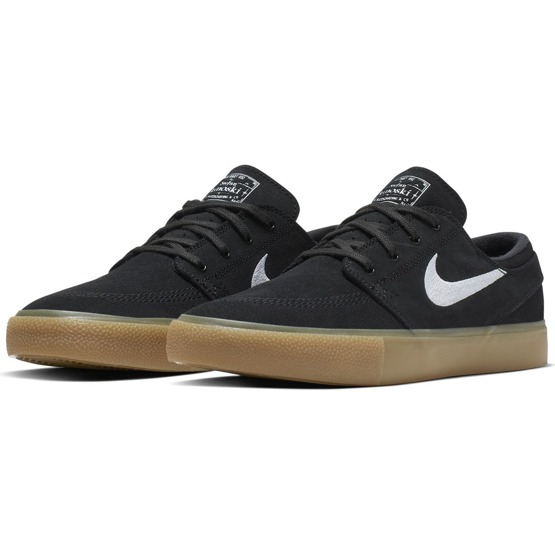 Nike Sb Zoom Stefan Janoski RM Black/white-black-gum Light Brown