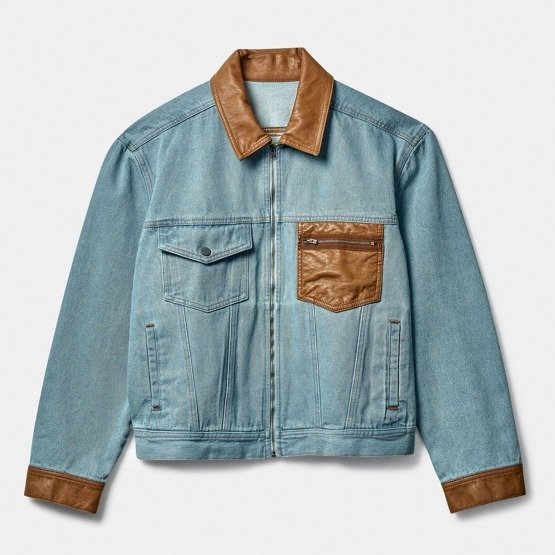 Rassvet Men's Light Denim Jacket