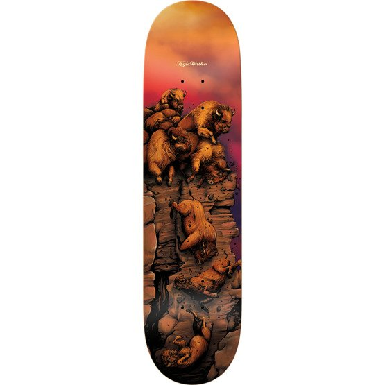 Real Skateboards Kyle Walker Great Heights Skateboard Deck - 8.06""