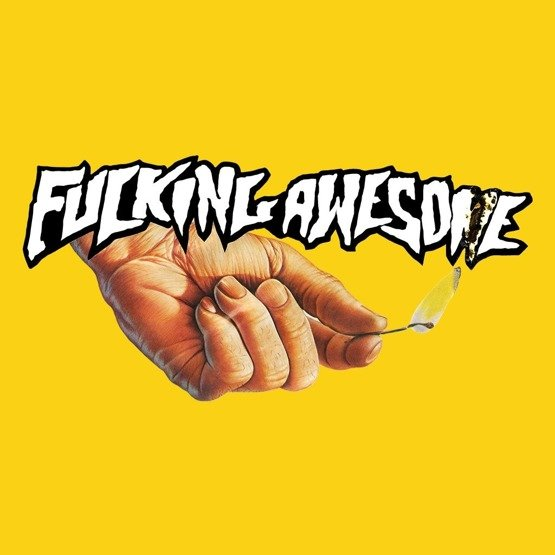 fucking awesome Pyro Tee yellow