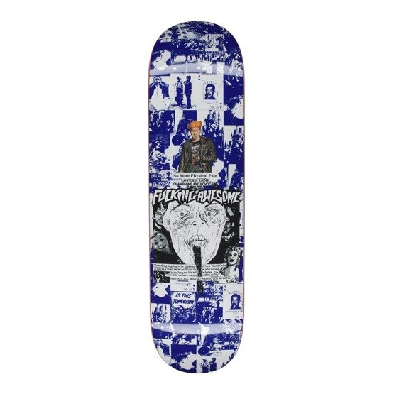 fucking awesome deck face reality blue 8.25""