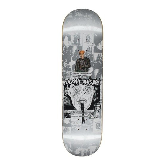 fucking awesome deck face reality silver 8.5""