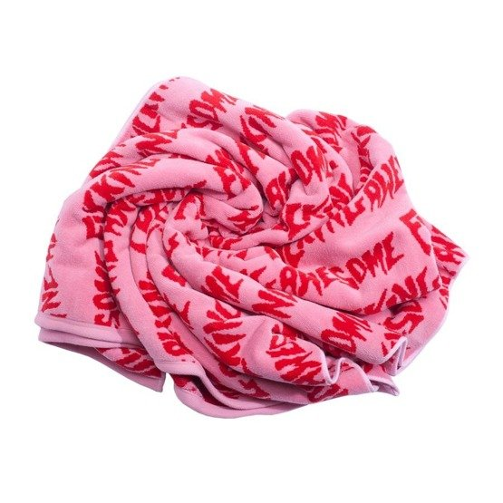 fucking awesome towel red/pink