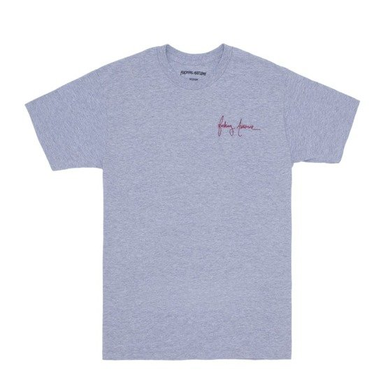 fucking awesome world kid tee sport grey