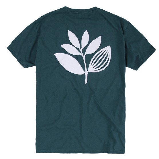 magenta classic plant tee teal