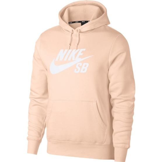 nike sb icon hoodie po essential Washed Coral/white