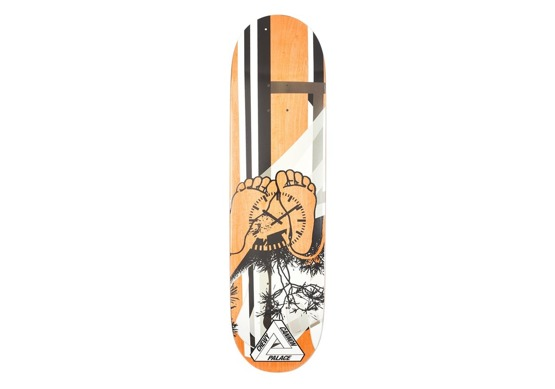palace chewy orange deck 8.375""
