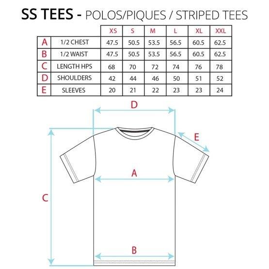 da13e397d5 polar dane tee (dusty blue/dusty rose) | Clothes \ T-shirts \ T ...