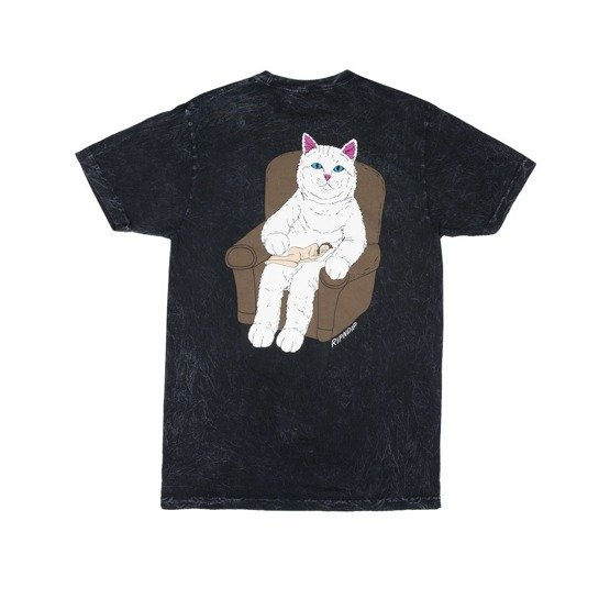 ripndip nap time tee black