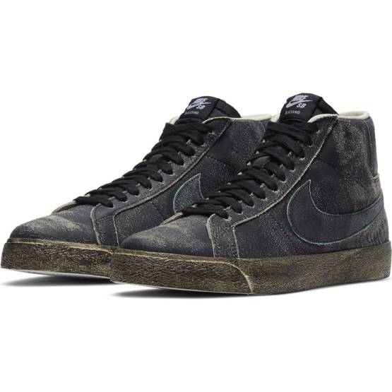 shoes Nike SB Zoom Blazer Mid Premium BLACK/LIGHT DEW-COCONUT MILK-LIGHT DEW
