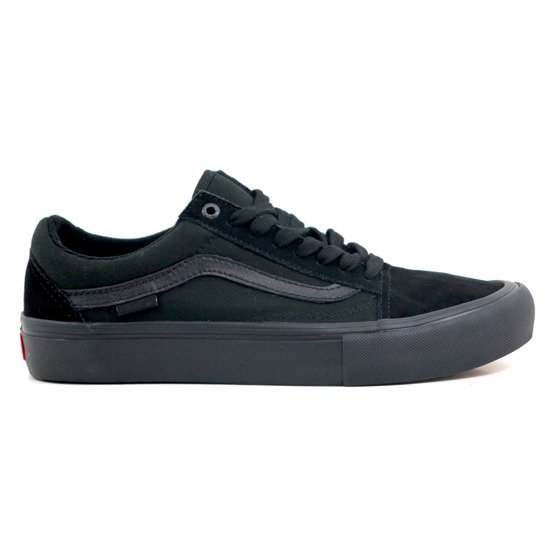 shoes vans old skool pro blackout