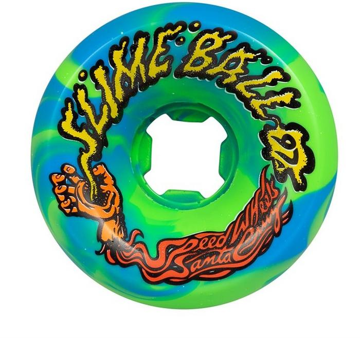 slime balls 60mm vomits blue green 97a