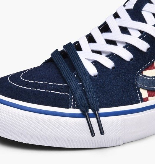 vans Sk8-Hi Pro (CHECKER) Dress Blues