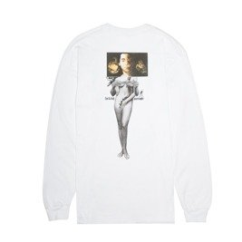 fucking awesome wizards l/s tee white