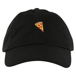 pizza emoji hat black