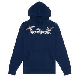 Fucking Awesome angel stamp hoodie