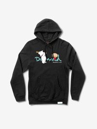 diamond family guy og script hoodie black