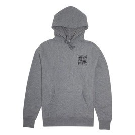 fucking awesome prey french terry hoodie grey